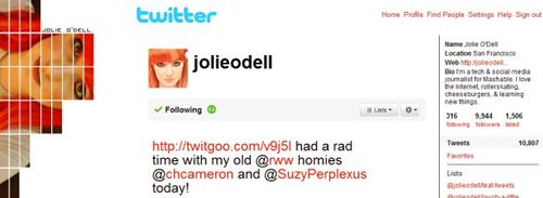 Antes de usar o Twitter como ferramenta de marketing pessoal nas Internet personalize o seu perfil