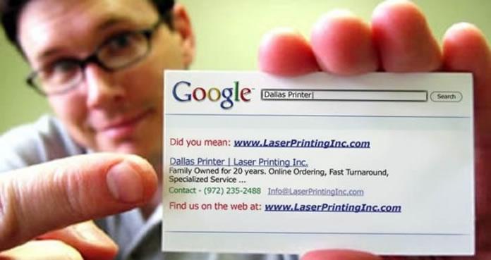 Estratégia de marketing pessoal no Google